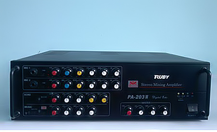 Âm ly Ruby JBA PA-203III