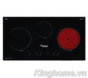 Bếp hồng ngoại điện từ ba Canzy CZ 600-3GIA