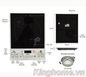 Bếp điện từ Midea MI-SV21DN - CS 2100W-4