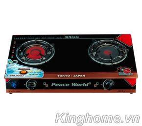 Bếp gas hồng ngoại dương Peace World PW-255HNH