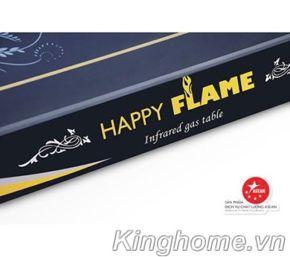 Bếp gas hồng ngoại dương Happy Flame HP HNL