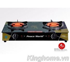 Bếp gas hồng ngoại dương Peace World PW-277HNH.A