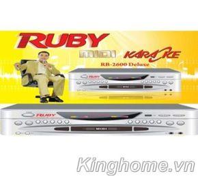 Đầu karaoke Ruby MD 2600 Deluxe