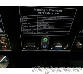 Đầu karaoke Arirang AR-3600 KTV ổ 2TB-4