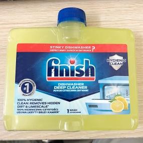 Dung dịch vệ sinh máy rửa bát Finish 250ml - Dạng dẹp