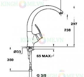 Vòi rửa Teka MC 10 PLUS