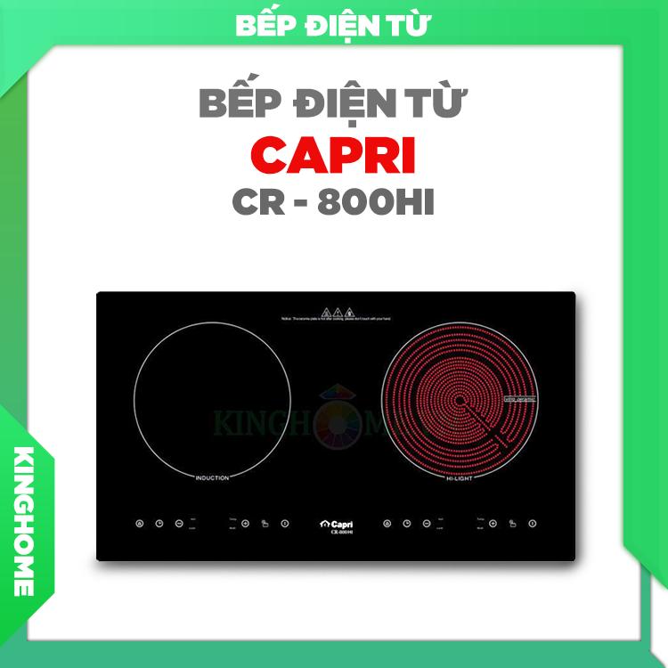 Bếp hồng ngoại điện từ Capri CR-800HI