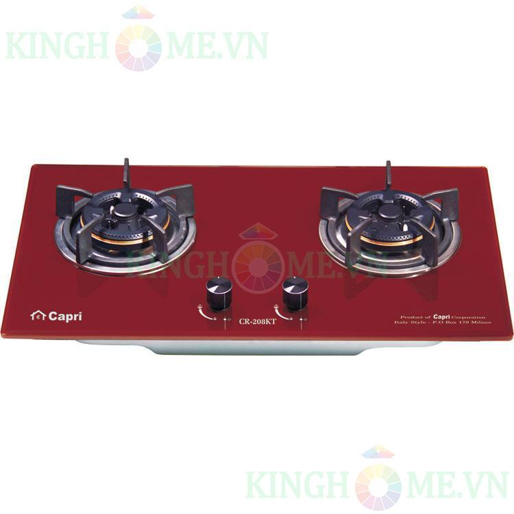 Bếp gas âm Capri CR-208KT (RED)