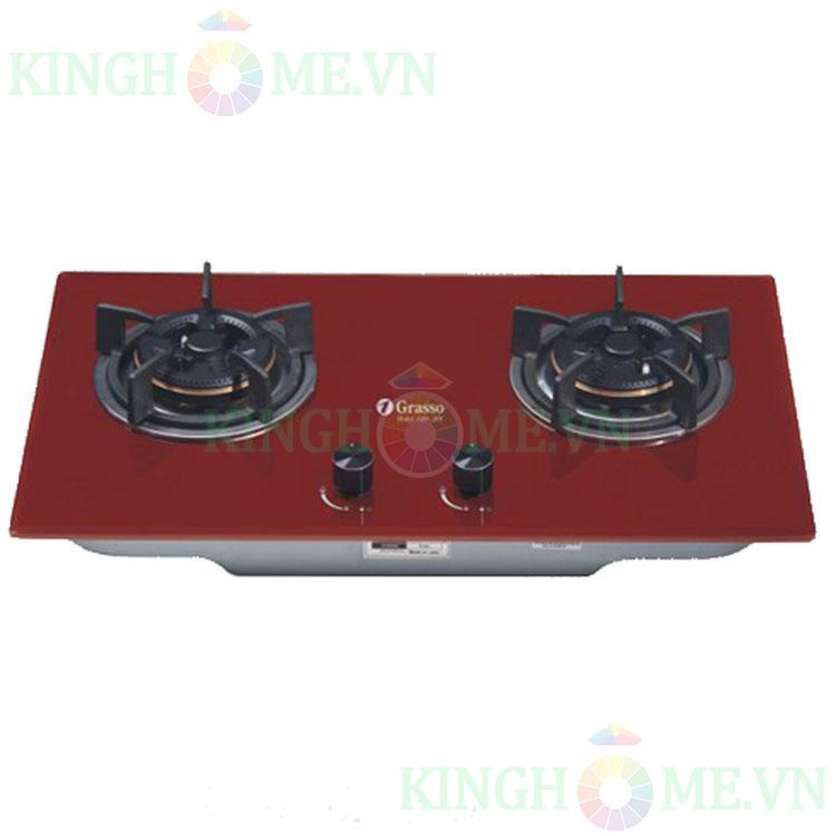 Bếp gas âm Grasso GS8-208 (RED)