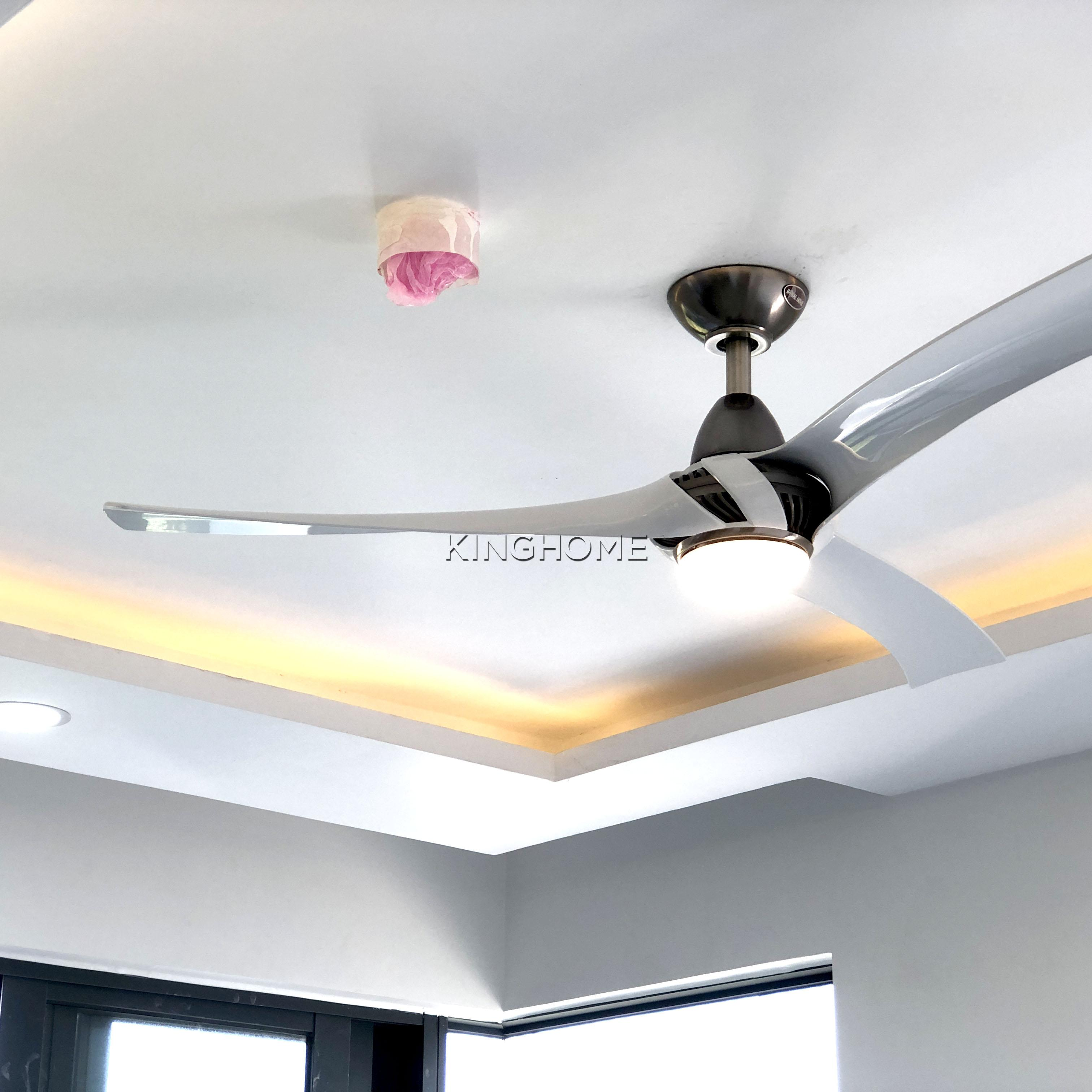 Quạt trần Royal Akova WH LED - Mr.Vu